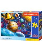 Пъзел Castorland от 100 части - Одисея на слънчевата система
