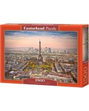 Пъзел Castorland от 1500 части - Градски пейзаж на Париж -1