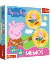 Мемори игра Trefl - Прасенцето Пепа