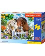 Пъзел Castorland от 100 части - Най-добри приятели
