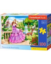 Пъзел Castorland от 100 части - Принцеса в Кралската градина