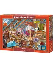 Пъзел Castorland от 500 части - Таванска стая