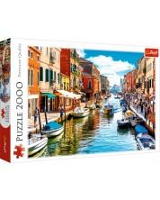 Пъзел Trefl от 2000 части - Остров Мурано, Венеция
