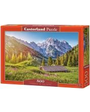 Пъзел Castorland от 500 части - Лято в Алпите