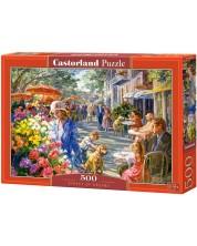 Пъзел Castorland от 500 части - Улицата на мечтите -1