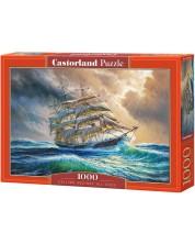 Пъзел Castorland от 1000 части - Плаване въпреки шансовете