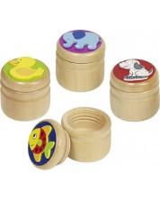 Кутийка за млечни зъби Goki - Слон, пате, риба, куче (асортимент) -1