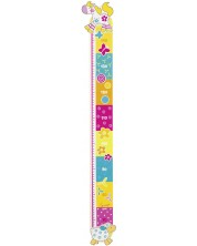 Детски метър за стена Goki Susibelle - Приятели, дървен -1