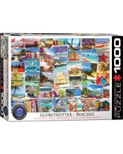 Пъзел Eurographics от 1000 части – Пътешественик на плажовете по света