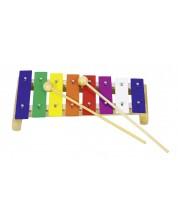 Детски музикален инструмент Goki - Ксилофон, среден -1