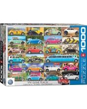 Пъзел Eurographics от 1000 части - VW Beetle -1