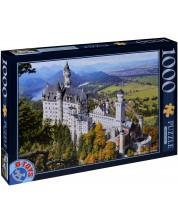 Пъзел D-Toys от 1000 части - Замъкът Нойшванщайн, Германия