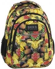 Ученическа раница BackUP H29 - Fruits, с 3 отделения