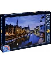 Пъзел D-Toys от 1000 части - Гент, Белгия -1