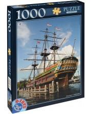 Пъзел D-Toys от 1000 части - Амстердам, Холандия -1