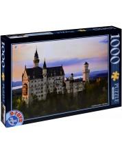 Пъзел D-Toys от 1000 части - Замъкът Нойшванщайн, Германия -1