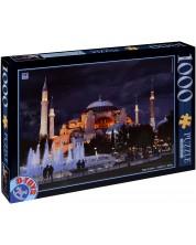 Пъзел D-Toys от 1000 части - Църквата Света София, Истанбул -1