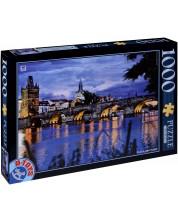 Пъзел D-Toys от 1000 части - Прага, Чехия -1