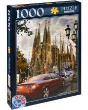 Пъзел D-Toys от 1000 части - Базиликата Саграда Фамилия, Испания -1