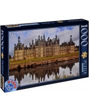 Пъзел D-Toys от 1000 части - Замъка Шамбор, Франция -1