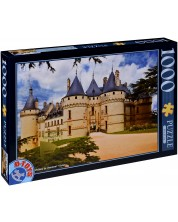 Пъзел D-Toys от 1000 части - Замъка Шомон сюр Лоар, Франция -1