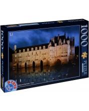 Пъзел D-Toys от 1000 части - Замъка Шенонсо, Франция -1
