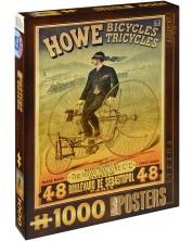 Пъзел D-Toys от 1000 части – Триколката на Хау