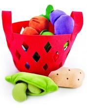 Игрален комплект Hape - Кошница със зеленчуци -1