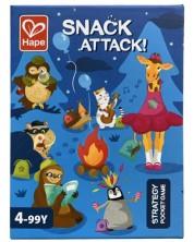 Игра с карти Hape - Snack Attack -1