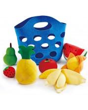 Игрален комплект Hape - Кошница с плодове -1