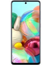 "Смартфон Samsung Galaxy A71 - 6.7"", 128GB, сребрист -1"