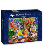Пъзел Bluebird от 1000 части - Забава с котенца