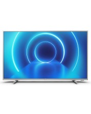 "Смарт телевизор Philips - 70PUS7555/12, 70"", 4K, сребрист -1"