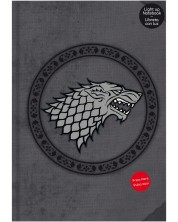 Тефтер SD Toys Game of Thrones - Stark, светещ