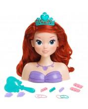 Детска кукла Just Play - Направи прическа на Ариел