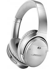 Слушалки Bose - QuietComfort 35 II, ANC, сребристи -1