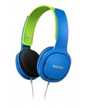 Детски слушалки Philips - SHK2000BL, сини