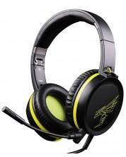 Гейминг слушалки Somic - G801, черни/жълти