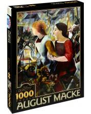 Пъзел D-Toys от 1000 части - Две момичета, Аугуст Маке -1