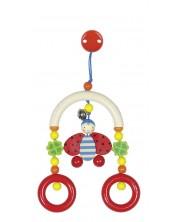 Бебешка играчка Heimess - Калинка, висяща -1