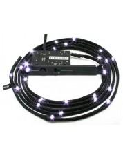 Led лента NZXT - Sleeved LED Kit, White CB, черна -1