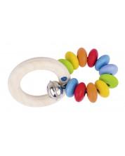 Бебешка дрънкалка Heimess Soft Colors - Дъга -1