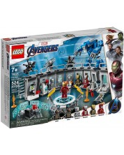 Конструктор Lego Marvel Super Heroes - Iron Man Hall of Armor (76125)