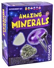Комплект за експерименти Kosmos - Невероятните минерали -1