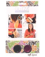 Брокат Glitza - Комплект Дантелки, 2 цвята
