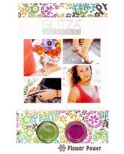 """Брокат Glitza - Комплект """"Силата на цветята"""", 2 цвята"""