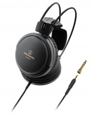 Слушалки Audio-Technica - ATH-A550Z Art Monitor, hi-fi, черни -1
