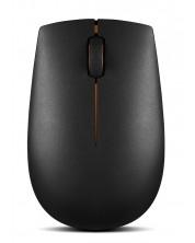 Безжична мишка Lenovo - 300, черна -1