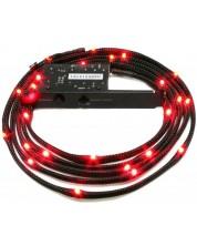 Led лента NZXT - Sleeved LED Kit Red CB, черна -1