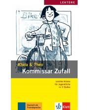 Klara&Theo A2 Kommissar Zufall, Buch + Mini-CD